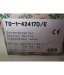 Klöckner Moeller Sonderschalter T0-1-42417D/E OVP