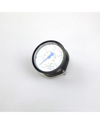 Festo Flanschmanometer FMA-63-2,5-1/4-EN 159601 NOV