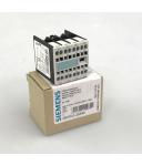 Siemens Hilfsschalterblock 3RH1911-2GA40 OVP
