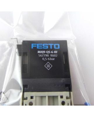 Festo 2/2-Wegeventil MHJ9-QS-6-HF 567790 OVP