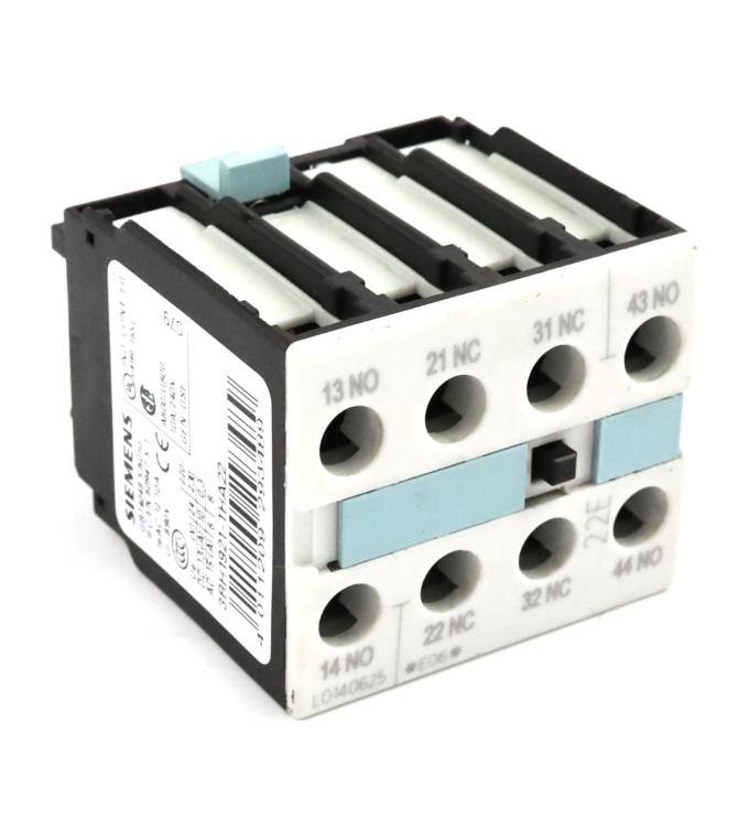Siemens Hilfschalterblock 3RH1921-1HA22 GEB