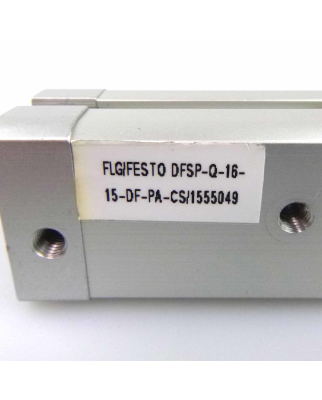 Festo Stopperzylinder DFSP-Q-16-15-DF-PA-CS 1555049 GEB