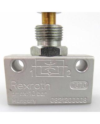 Bosch Rexroth Pneumatik Drossel-Ventil 0821200008 GEB