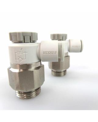 SMC Drosselrückschlagventil AS3201F-G03-08A-X1 (2Stk) GEB