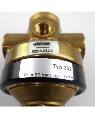 AirCom Hochdruckregler R286-03CK Typ 302 60bar G3/8 NOV