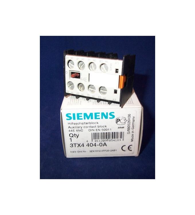 Siemens Hilfsschalterblock 3TX4404-0A OVP