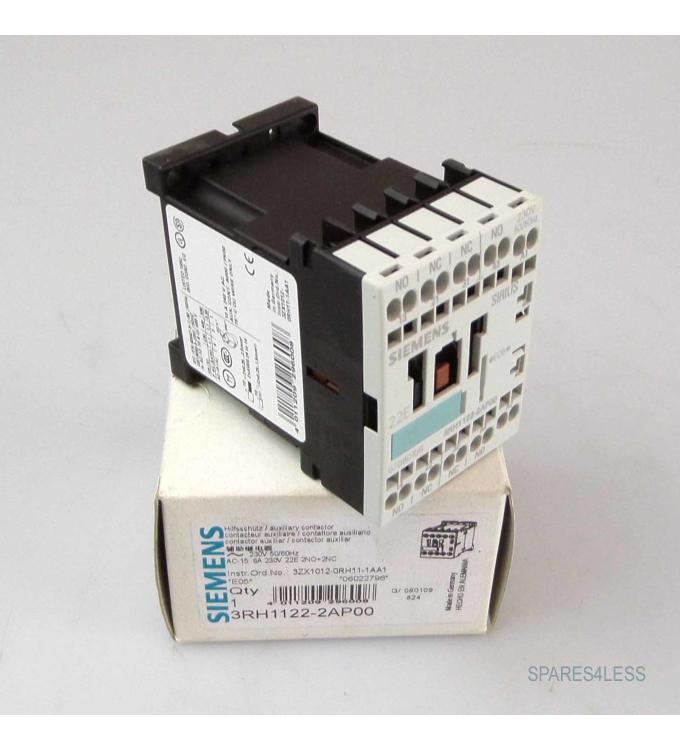 Siemens Hilfsschütz 3RH1122-2AP00 OVP