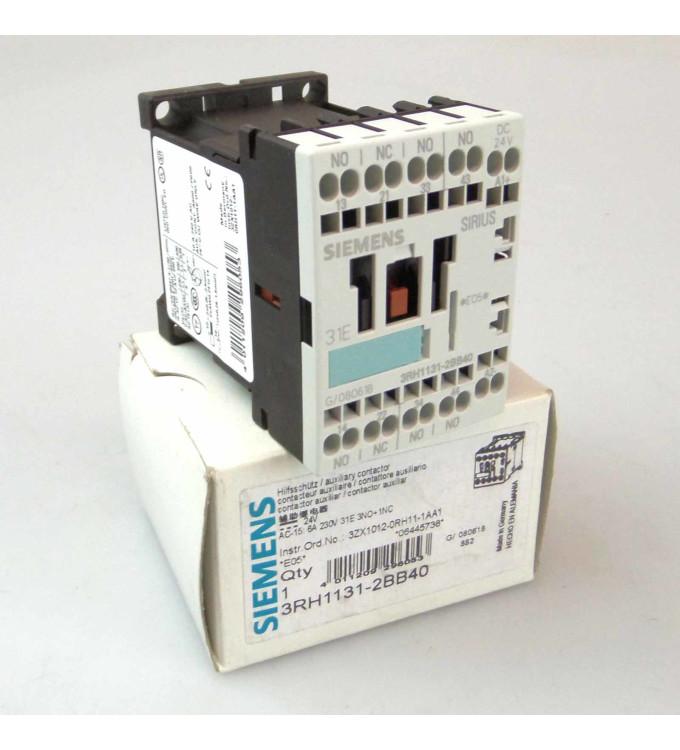 Siemens Hilfsschütz 3RH1131-2BB40 OVP