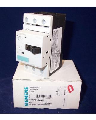 Siemens Leistungsschalter 3RV1011-1AA10 OVP