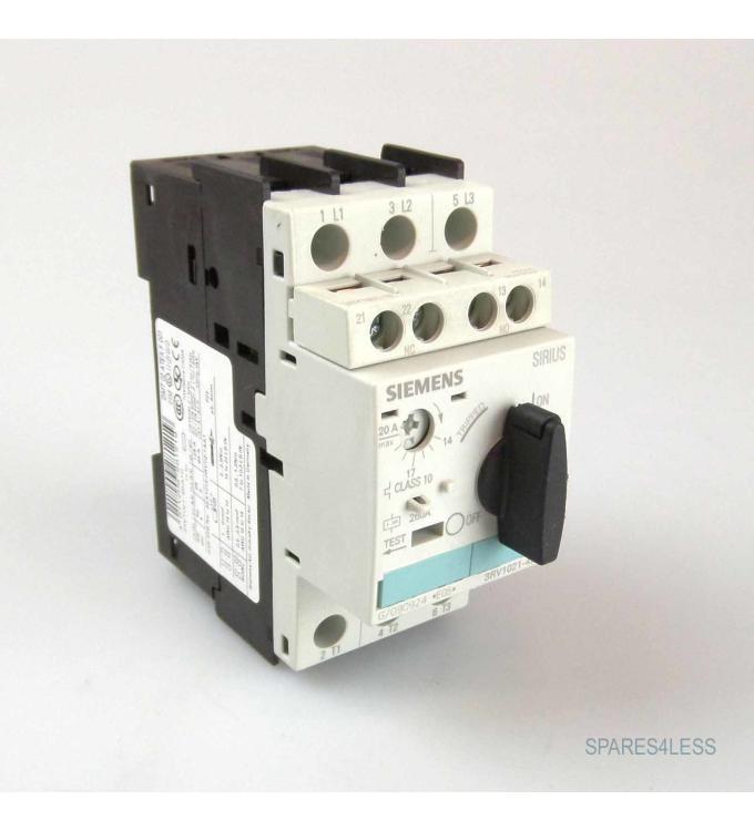 Siemens Leistungsschalter 3RV1021-4BA10 GEB