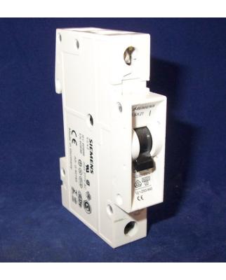 Siemens Leitungsschutzschalter 5SX2106-7 GEB
