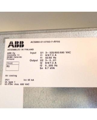 ABB Frequenzumrichter ACS880-01-07A3-7+R705 GEB