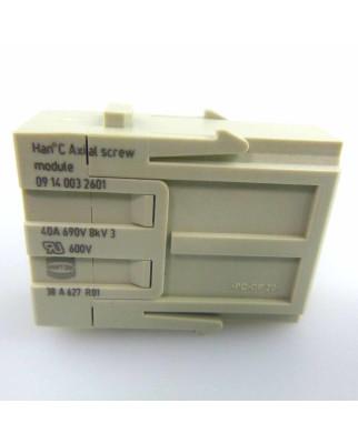 Harting Industrie-Steckverbinder HAN Modul 09140032601 NOV