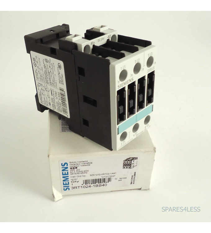 Siemens Leistungsschütz 3RT1024-1BB40 OVP