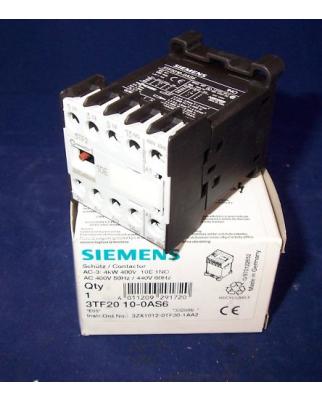 Siemens Schütz 3TF2010-0AS6 OVP