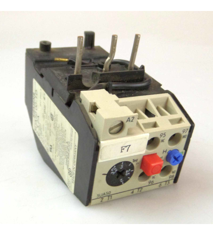 Siemens Überlastrelais 3UA5000-1D GEB