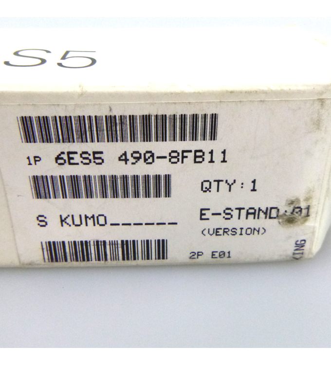 Simatic S5 Frontstecker 6ES5 490-8FB11 OVP