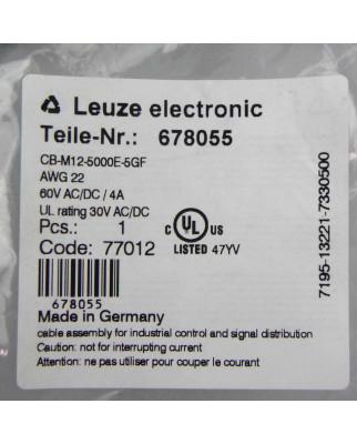 Leuze Anschlusskabel CB-M12-5000E-5GF 678055 OVP