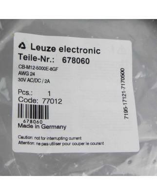 Leuze Anschlusskabel CB-M12-5000E-8GF 678060 OVP