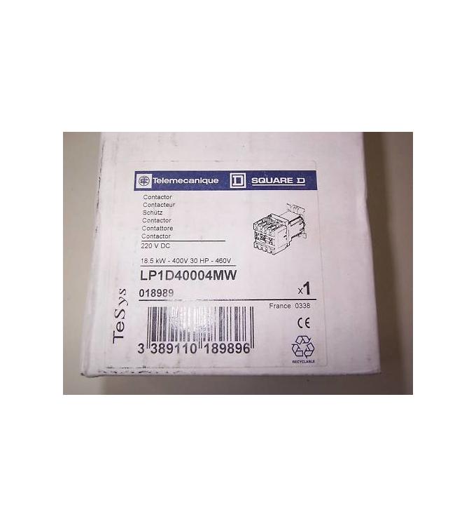 Telemecanique Schütz LP1D40004MW 18,5kW 018989 OVP