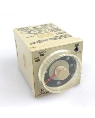 Omron Zeitrelais H3CR-A 0,05s-300h 24-48VAC 12-48VDC GEB