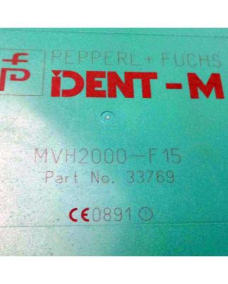 Pepperl+Fuchs Schreib-/Lesekopf MVH2000-F15 Part No 33769 GEB