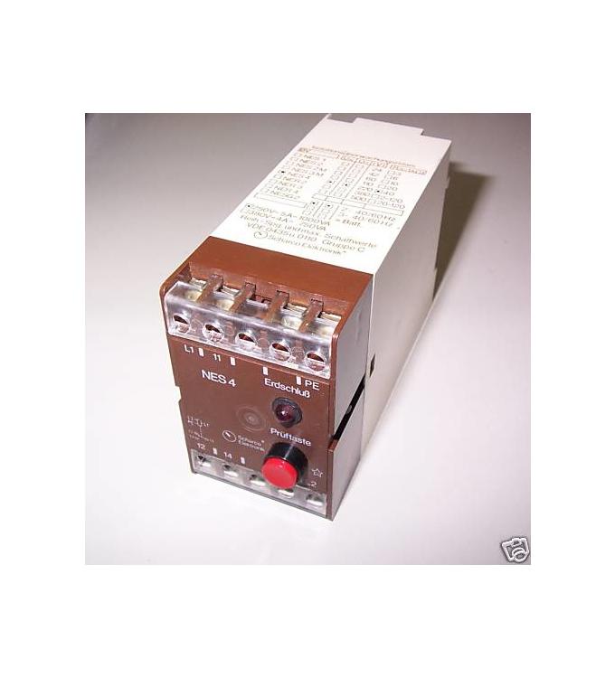 Scharco Isolationsüberwachungsrelais NES 4 380V GEB