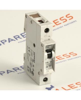 Siemens Leitungsschutzschalter 5SX2125-7 GEB