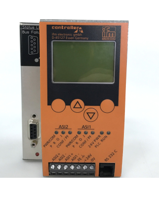 ifm Profibus-DP AS-i ControllerE AC1306 2MSTR 1RS232C 1DP GEB