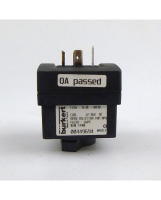bürkert Durchflusssensor SE30/8030 00449694 12-36V NOV