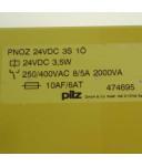 Pilz Not-Aus Schaltgerät PNOZ 24VDC 3S 1ö 474695 GEB