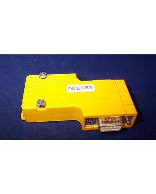 Pilz SafetyBUS Stecker PSS SB SUB-D1 GEB