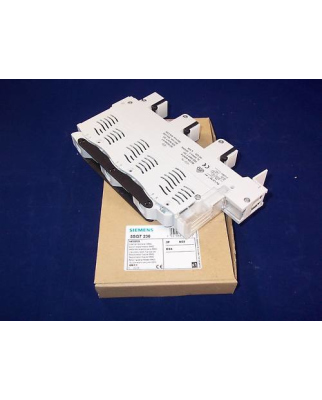 Siemens NEOZED Lasttrennschalter SR60 5SG7230 OVP