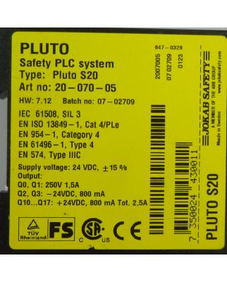 Jokab Safety Sicherheits-SPS Pluto S20 20-070-05 24VDC NOV