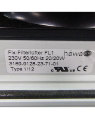 häwa Fix-Filterlüfter FL1 3159-9128-23-71-01...