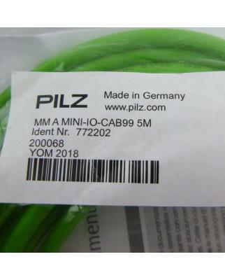 Pilz Adapterkabel MM A MINI-IO-CAB99 5M 772202 OVP