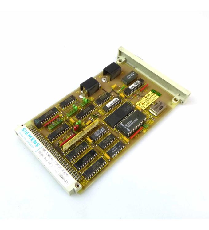 Siemens SICOMP SMP-E306 C8451-A14-A4-2 GEB