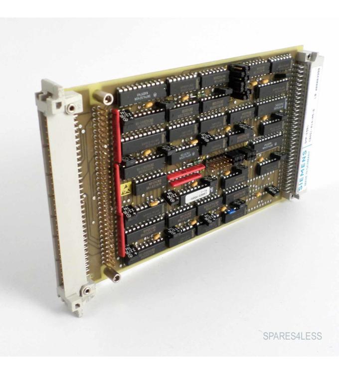 Siemens SICOMP SMP-E591 C8451-A14-A5-6 GEB