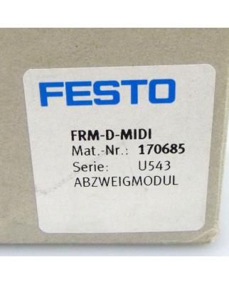Festo Abzweigmodul FRM-D-MIDI 170685 OVP