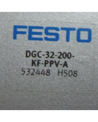 Festo Linearantrieb DGC-32-200-KF-PPV-A 532448 NOV