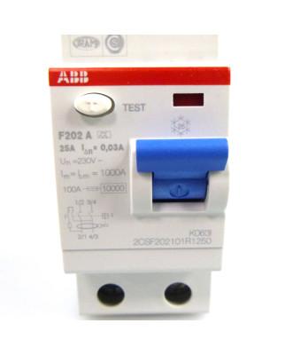 ABB Fehlerstrom-Schutzschalter F202 A K063l...