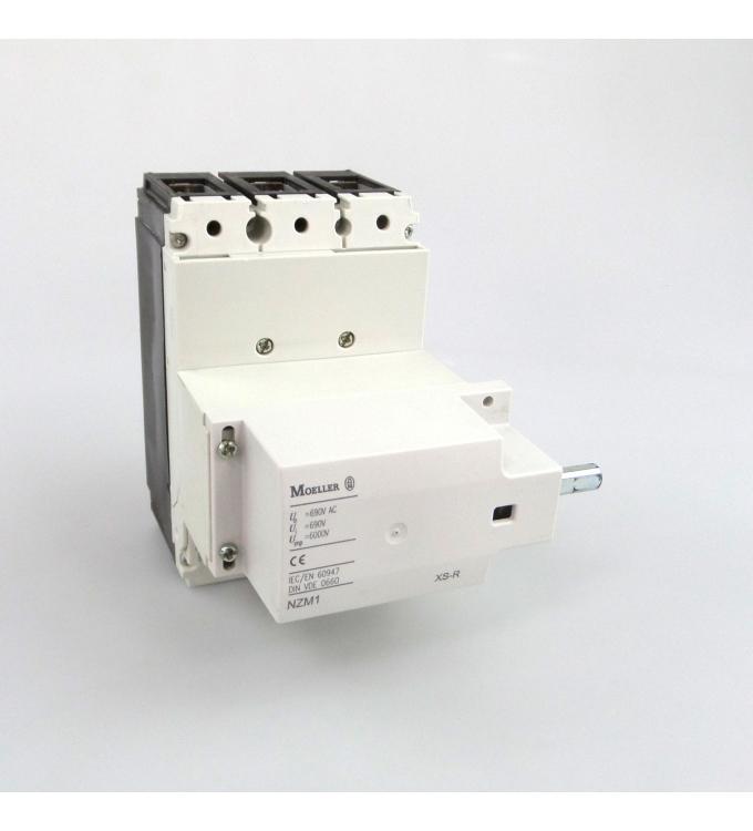 Klöckner Moeller Leistungsschalter NZMB1-S63 + NZM1-XS-R GEB