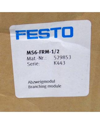 Festo Abzweigmodul MS6-FRM-1/2 529853 OVP