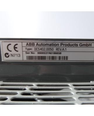 ABB DC-Drive DCS400 DCS402.0050 3ADT218333R0102 REV.A.1 NOV