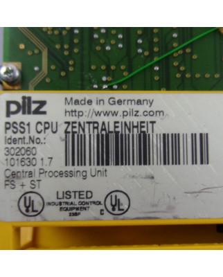 Pilz CPU Modul PSS1 CPU ZENTRALEINHEIT 302060 Vers.1.7 GEB