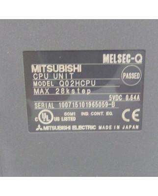 Mitsubishi Electric MELSEC CPU UNIT Q02HCPU OVP