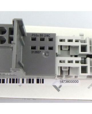 Pilz Basismodul PSSu BS 2/8 C 312657 OVP
