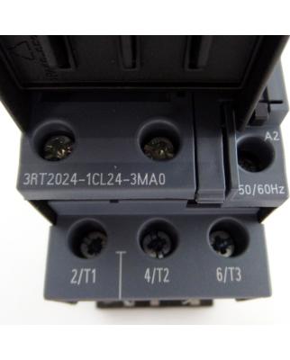 Siemens Leistungsschütz 3RT2024-1CL24-3MA0 NOV