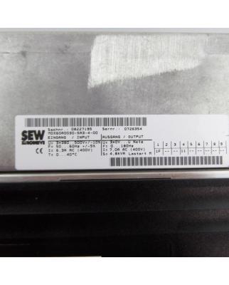 SEW EURODRIVE MOVIDRIVE MDX61B0030-5A3-4-0T GEB