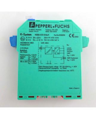 Pepperl+Fuchs Analog-HART-Ausgangstrennwandler...